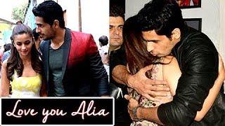 Sidharth Malhotra Says I LOVE YOU Alia Bhatt | Love Confession In PUBLIC