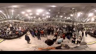360 degree video of Bernie Sanders
