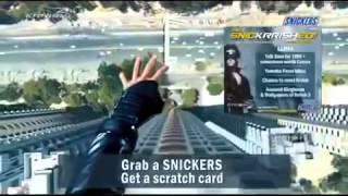 Snickers Chocolates New TVC 2013-Krrish 3(Latest Indian TV Ad)