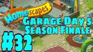 HOMESCAPES Gameplay Story Walkthrough Part #32 | Garage Area Day 5 Season Finale