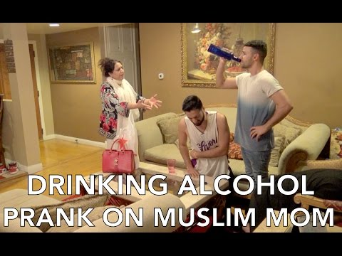 Xxx Mp4 DRINKING ALCOHOL PRANK ON MUSLIM MOM 3gp Sex