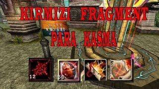 Knight Online Şans Oyunları | 50x Kırmızı Fragment Drop | Para Kasma 3