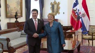Chile será plataforma para el comercio de Paraguay al Pacífico