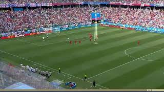 Panama trying to score a goal while England players were celebrating  ENGPAN