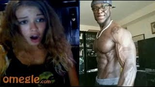 Bodybuilder On Omegle: Girls Thought They Were Dreaming