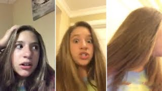 Mackenzie Ziegler CURSES When She Trips Over | FULL VDEO