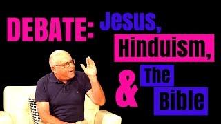 HEATED DEBATE on JESUS and The BIBLE: Pastor vs. Hindu Guru (H.D. Goswami, Excerpt 1 of 2)