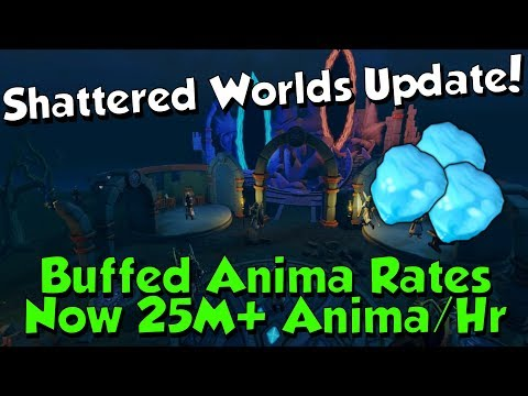 New Update to Shattered Worlds! [Runescape 3] 25M+ Anima/Hour