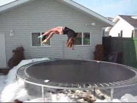 me doing gymnastics