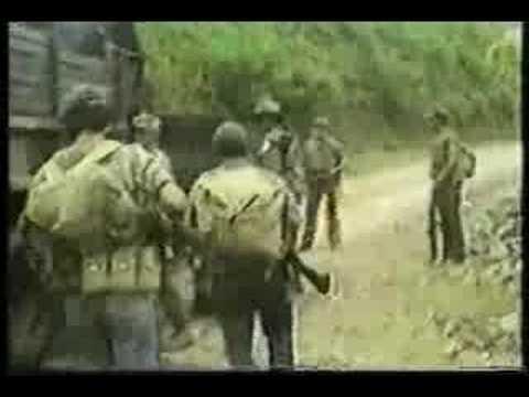 FMLN EL SALVADOR GUERRILLA EN MORAZAN