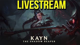 🔴 KAYN PBE GAMEPLAY  - League of Legends 🔴