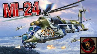Mi-24 Hind Attack Helicopter - RUSSIAN GUNSHIP