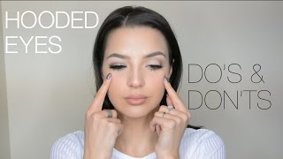 hooded eyes makeup   do's & don'ts