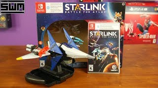 Unboxing The New Star Fox Game (Starlink: Battle For Atlas) | Nintendo Switch
