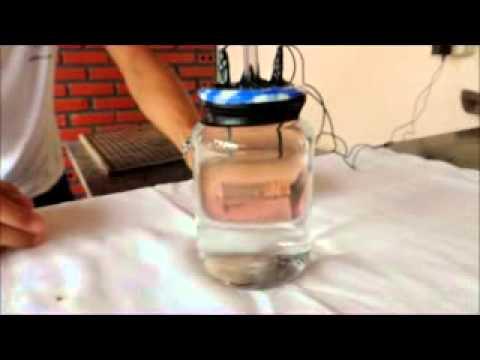 Trabalho de química. eletrólise da água. Professor Norberto