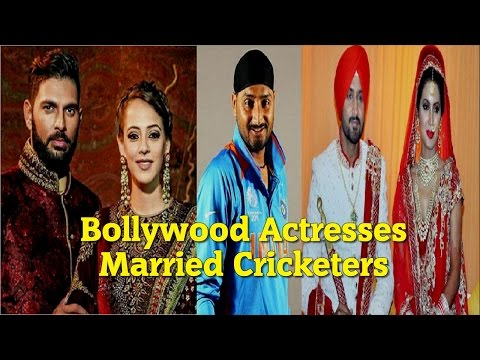 7 Bollywood Actresses Who Married Cricket Players