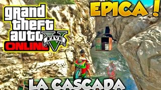 GTA 5 Online La Cascada Carrera Extrema Con Rampas Imposibles Gameplay GTA V Online Funny Moments