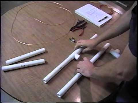 2 Meter Quad PVC Pipe Antenna Part 2 6