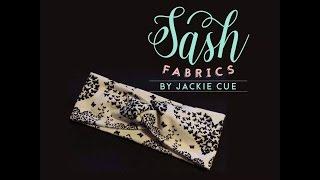 Sash Fabrics - Child Size DIY Faux Turban Headband Tutorial!