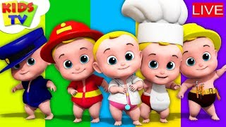 ABC Song For Kids | Nursery Rhymes and Kids Songs Live