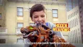 "Tranformers UK TV Advert (Short) ""Stomp & Chomp Grimlock"""