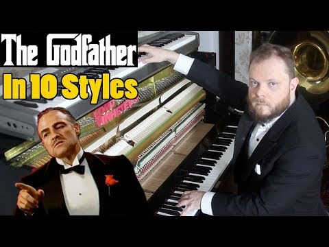 The Godfather in 10 Styles