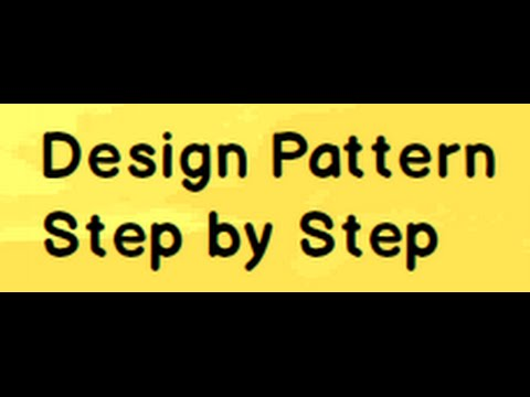 Learn C# Design Patterns Step by Step in 8 hours.