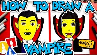 How To Draw The Vampire Emoji 🧛♂️🧛♀️