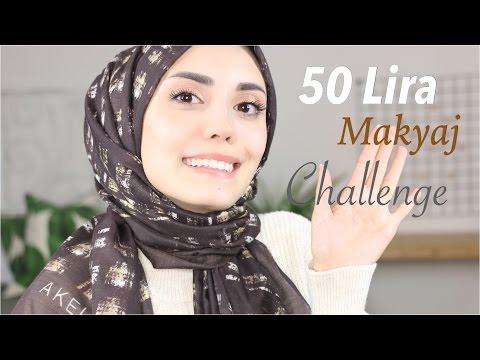 50 Lira Makyaj Challenge & İlk İzlenimlerim