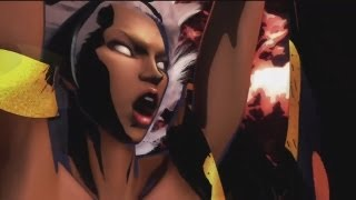 Storm (X-Men) Tribute Weather Witch - UMVC3 Combos & Marvel Ultimate Alliance 2 Gameplay [HD]
