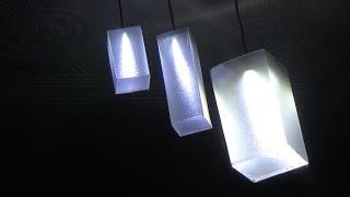 membuat lampu gantung /lampu sudut plafon dari led #2
