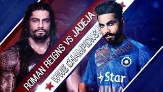 Jadeja VS Roman Reigns - 1-vs-1 Match At Wrestlemania