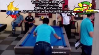 Torneo Nacional Billar Pool - Cúcuta, Colombia - Keny Castro Vs Daniel Gutierrez