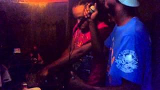Ragga banton selector Acid @ Jah Tower studio str8 outta Trinidad