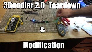 3Doodler 2 0 Teardown & Modification