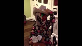Wrestler Cowgirl