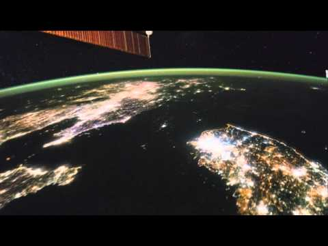 North Korea Looks Strangely Dark From Space In Asia Fly Over Video