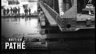 Bridge Being Put Into Position (1920-1929)