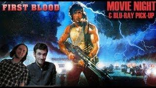 Movie Night: First Blood (& Blu-ray Pick-up)