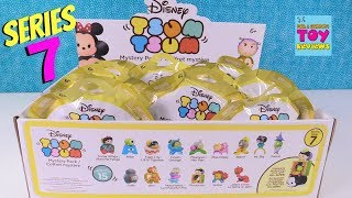 Disney Tsum Tsum Series 7 Mystery Pack Full Box Opening Toy Review | PSToyReviews