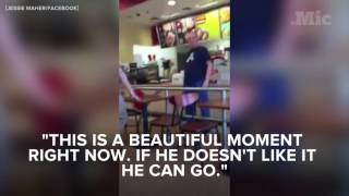 Target Employees Defend a Breastfeeding Woman From Harassment