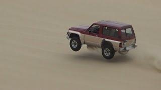 تطعيس في العديد 25/11/2016  - Dune Bashing in Qatar