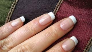 Perfect French Nails At Home DIY Tutorial