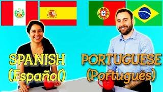 Similarities Between Spanish and Portuguese