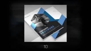 17 Company Profile Perusahaan Tema Biru Download Graphicrive