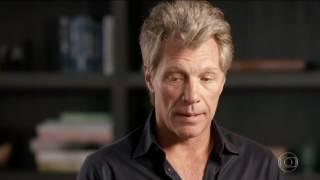 Fantástico - Atração do Rock in Rio, Jon Bon Jovi conta que tocar em 2013 foi 'fabuloso'