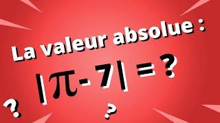 Exercices sur la valeur absolue - Partie 1