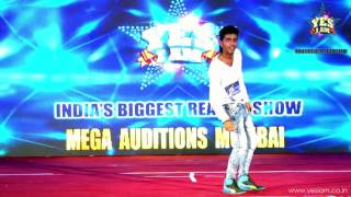 Savan Brahmabhatt Performing  DANCE AT YES I AM Reality Show