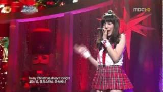 Tiffany ( SNSD ) - Christmas Dream (Teenage Dream) (Dec 24_ 2011)