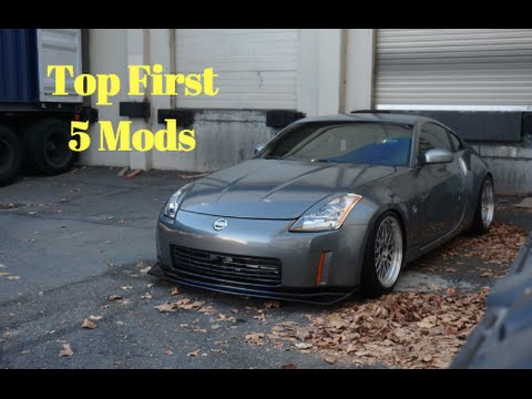 Top 5 first mods for your car